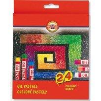 Pastele olejne KOH-I-NOOR Gioconda 24 kolory