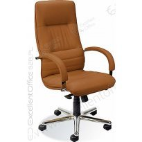Fotel gabinetowy NOWY STYL Linea Steel Chrome SD09