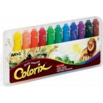 Kredki artystyczne AMOS COLORIX 3w1 12 kolorów
