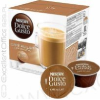 Kapsułki Nescafe Dolce Gusto Cafe Au Lait 160g