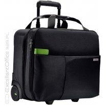 """Torba na laptop LEITZ Complete Smart 15.6"""" na kółkach, czarny"""