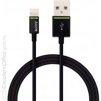 Kabel LEITZ Complete ze złączem Lightning na USB, 1 m, czarny