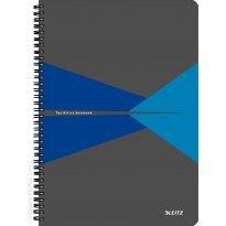 Kołonotatnik LEITZ Office Card A4/90k, 90gsm, w linię, niebieski