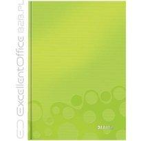 Brulion LEITZ WOW A5/80k, w kratkę, zielony