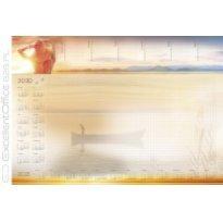 Kalendarz na biurko MICHALCZYK I PROKOP PLANER A2 z listwą