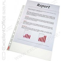 Koszulka groszkowa ESSELTE A4 karton (100szt) 48mic