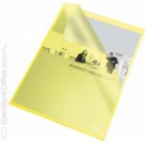 Ofertówka groszkowa ESSELTE A4 żółta 115mic (25szt)