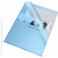 Ofertówka groszkowa ESSELTE A4 niebieskia 115mic (25szt)