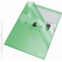 Ofertówka groszkowa ESSELTE A4 zielona 115mic (25szt)
