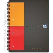 Kołonotatnik OXFORD ACTIVEBOOK A5+/80k kratka