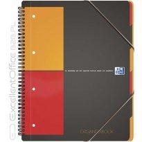 Kołonotatnik z teczką OXFORD ORGANISERBOOK A4+/80k kratka
