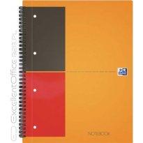 Kołonotatnik OXFORD NOTEBOOK A5+/80k linia