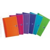 Kołonotatnik OXFORD My Colours A5/90k kratka