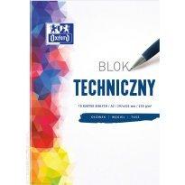 Blok techniczny OXFORD A3/10k 250g biały