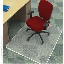 Mata pod krzesło Q-CONNECT, na dywany twarda , grub. 2,5mm, PVC