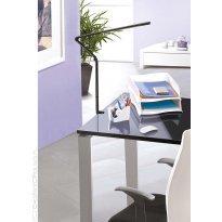 Lampka na biurko CEP CLED-510, 11, 2W ze ściemniaczem, mocowana zaciskiem, czarna