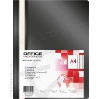 Skoroszyt miękki OFFICE PRODUCTS PP A4 czarny (25szt)
