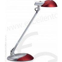Lampka biurkowa MAUL STORM LED bordowa