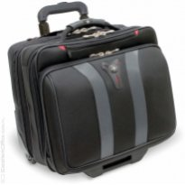 "Torba pilotka WENGER GRANADA 17"", 420x350x250mm, czarno/szara"