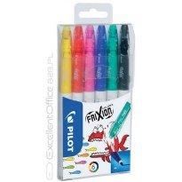 Flamaster wymazywalny PILOT Frixion colors 6 kol.