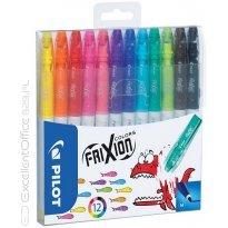 Flamaster wymazywalny PILOT Frixion colors 12 kol.