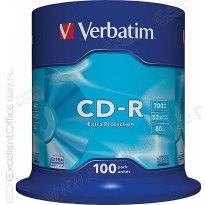 Płyta CD-R VERBATIM 700MB cake (100szt)