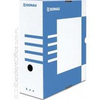 Pudło archiwizacyjne DONAU 120mm niebieskie