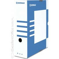 Pudło archiwizacyjne DONAU 100mm niebieskie