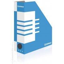 Pojemnik kartonowy na dokumenty DONAU A4/100mm biało/niebieski 7648001FSC-10