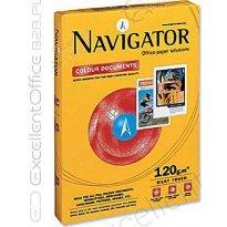 Papier xero A4 NAVIGATOR Colour Documents 120g CIE169 klasa A (250ark)