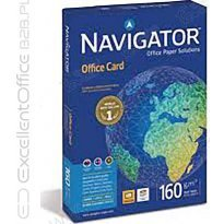 Papier xero A4 NAVIGATOR Office Card 160g CIE169 klasa A (250ark)