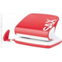 Dziurkacz SAX Design 318 czerwony 20k