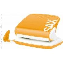 Dziurkacz SAX Design 318 pomarańczowy 20k