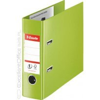 Segregator bankowy ESSELTE VIVIDA A5/75mm No.1 zielony