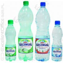 Woda mineralna Nałęczowianka 0,5L gazowana (12szt)