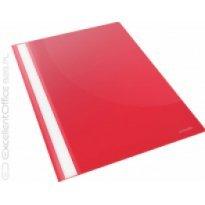 Skoroszyt miekki ESSELTE VIVIDA A4 PP czerwony (25szt)