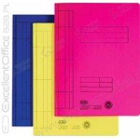 Skoroszyt kartonowy ELBA A4 żółty