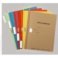 Skoroszyt zawieszkowy na akta osobowe SPIRAL A4 niebieski (10szt)