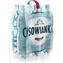 Woda mineralna CISOWIANKA 1,5l niegazowana (6szt) plastikowa butelka