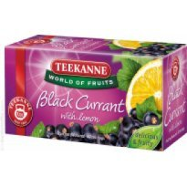 Herbata owocowa TEEKANNE Black Currant With Lemon (20T)