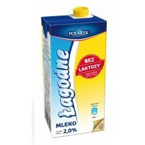 Mleko lekkostrawne POLMLEK Łagodne 2% 1L