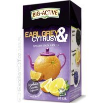 Herbata czarna BIG-ACTIVE Earl Grey & Cytrusy (20T)