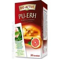 Herbata czerwona BIG-ACTIVE PU-ERH z grejpfrutem (30T)