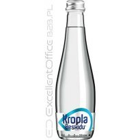 Woda mineralna KROPLA BESKIDU niegazowana 0.33L but. szklana (12szt)