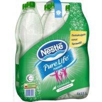 Woda mineralna NESTLE Aquarel/Pure Life 1.5l gaz.(6szt)