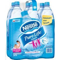 Woda mineralna NESTLE Aquarel/Pure Life 1.5l ngaz.(6szt)