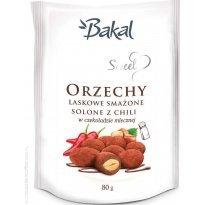 Orzechy laskowe w czekoladzie z chili BAKAL SWEET 80g