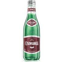 Woda Cisowianka 0,3L silnie gazowana (24szt) szklana butelka