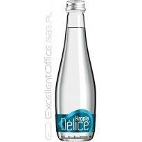 Woda mineralna KROPLA BESKIDU gazowana 0.33L but. szklana  (12szt)