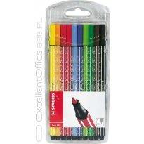 Flamastry STABILO Pen 68 kpl. 10 kolorów